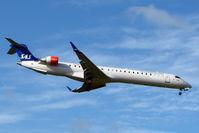 OY-KFD @ EGBB - SAS CLRJ-900 arriving at Birmingham UK