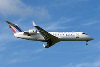 F-GRJQ @ EGBB - Brit Air / Air France CLRJ arriving at BHX