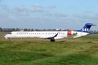 OY-KFD @ EGBB - SAS CLRJ-900 departing from Birmingham UK