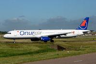 TC-OAK @ EGBB - Onur Air A321 at Birmingham