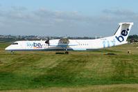 G-FLBA @ EGBB - Flybe Dash 8  at Birmingham UK