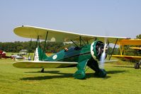 N11274 @ IA27 - At the Antique Airplane Association Fly In - by Glenn E. Chatfield