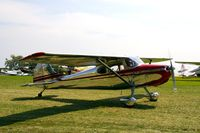 N1424D @ IA27 - At the Antique Airplane Association Fly In - by Glenn E. Chatfield