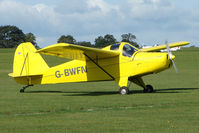 G-BWFN @ EGBK - Visitor to the 2009 Sywell Revival Rally - by Terry Fletcher