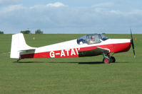 G-ATAV @ EGBK - Visitor to the 2009 Sywell Revival Rally - by Terry Fletcher