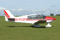 G-FCSP @ EGBK - Visitor to the 2009 Sywell Revival Rally - by Terry Fletcher