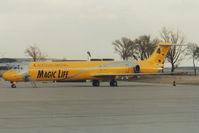 OE-LMB @ LOWW - Austrian Airlines MD80
