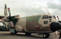 4X-FBW @ GREENHAM - C-130H Hercules of 103 Squadron Israeli Air Force at the 1979 Intnl Air Tattoo at RAF Greenham Common. - by Peter Nicholson
