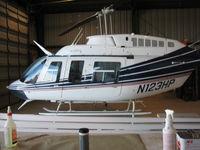 N123HP @ KTUS - N123HP hanging out in Med-Trans' hangar in Tucson - by Ehud Gavron