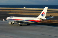 9M-MKT @ RJGG - Mlaysian Airlines - by J.Suzuki