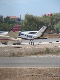 CS-DEL @ LPPM - SOCATA TOBAGO acidented at portimao - by ze_mikex
