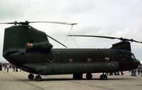 74-22283 @ GREENHAM - CH-47C Chinook of the US Army's 295 Aviation Company at the 1979 Intnl Air Tattoo at RAF Greenham Common. - by Peter Nicholson