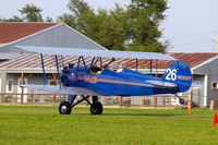 N662Y @ IA27 - At the Antique Airplane Association Fly In - by Glenn E. Chatfield