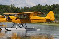 N1586N @ 96WI - 1947 Piper J3C-65, c/n: 23118 - by Timothy Aanerud