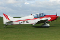 G-EHIC @ EGBK - Visitor to the 2009 Sywell Revival Rally