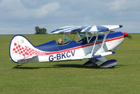 G-BKCV @ EGBK - Visitor to the 2009 Sywell Revival Rally