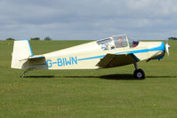 G-BIWN @ EGBK - Visitor to the 2009 Sywell Revival Rally