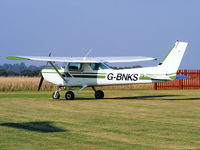 G-BNKS @ EGCV - Shropshire Aero Club Ltd - by Chris Hall
