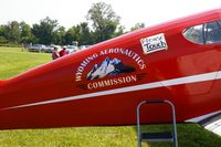 N2916V @ IA27 - At the Antique Airplane Association Fly In - by Glenn E. Chatfield