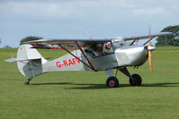 G-RAFV @ EGBK - Visitor to the 2009 Sywell Revival Rally