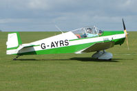 G-AYRS @ EGBK - Visitor to the 2009 Sywell Revival Rally