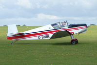 G-BHNL @ EGBK - Visitor to the 2009 Sywell Revival Rally - by Terry Fletcher