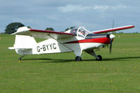 G-BYYC @ EGBK - Visitor to the 2009 Sywell Revival Rally