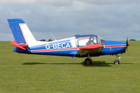 G-BECA @ EGBK - Visitor to the 2009 Sywell Revival Rally