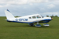 G-EFCM @ EGBK - Visitor to the 2009 Sywell Revival Rally