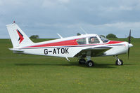 G-ATOK @ EGBK - Visitor to the 2009 Sywell Revival Rally