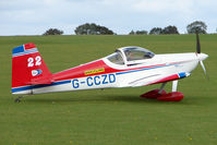 G-CCZD @ EGBK - Visitor to the 2009 Sywell Revival Rally - by Terry Fletcher