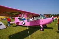 N4008A @ IA27 - At the Antique Airplane Association Fly In. L-16A 47-1095 - by Glenn E. Chatfield