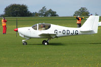 G-ODJG @ EGBK - Visitor to the 2009 Sywell Revival Rally