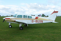 G-BUXN @ EGBK - Visitor to the 2009 Sywell Revival Rally