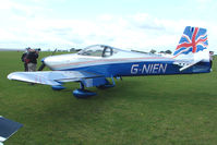 G-NIEN @ EGBK - Visitor to the 2009 Sywell Revival Rally