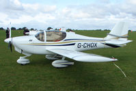 G-CHOX @ EGBK - Visitor to the 2009 Sywell Revival Rally