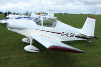 G-ILSE @ EGBK - Visitor to the 2009 Sywell Revival Rally