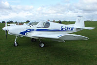 G-CFKW @ EGBK - Visitor to the 2009 Sywell Revival Rally