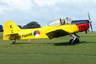 G-BEPV @ EGBK - Visitor to the 2009 Sywell Revival Rally