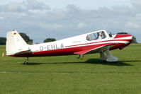 D-EHLA @ EGBK - Visitor to the 2009 Sywell Revival Rally