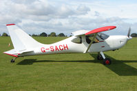 G-SACH @ EGBK - Visitor to the 2009 Sywell Revival Rally