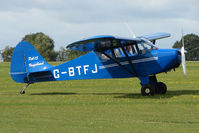 G-BTFJ @ EGBK - Visitor to the 2009 Sywell Revival Rally