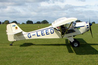 G-LEED @ EGBK - Visitor to the 2009 Sywell Revival Rally