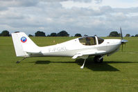 F-PGKL @ EGBK - Visitor to the 2009 Sywell Revival Rally