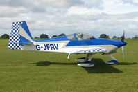 G-JFRV @ EGBK - Visitor to the 2009 Sywell Revival Rally