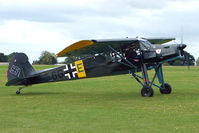 G-BZOB @ EGBK - Visitor to the 2009 Sywell Revival Rally