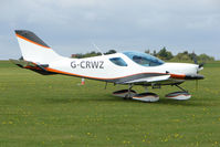 G-CRWZ @ EGBK - Visitor to the 2009 Sywell Revival Rally
