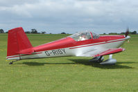 G-RISY @ EGBK - Visitor to the 2009 Sywell Revival Rally