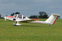 G-BLMG @ EGBK - Visitor to the 2009 Sywell Revival Rally