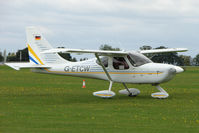 G-ETCW @ EGBK - Visitor to the 2009 Sywell Revival Rally